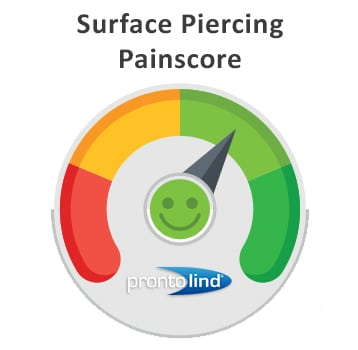 Surface Piercing Painscore